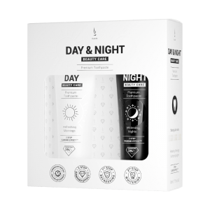 DuoLife Day and Night Beauty Care Toothpaste Set